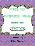 Comprehension Passages - Realistic Fiction for Common Core