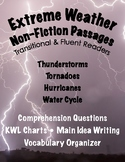 Nonfiction Comprehension Passages: Weather (Close Reading)