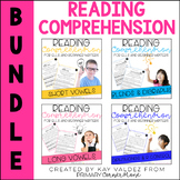 Reading Comprehension Passages and Questions (ESL) (ELL): The Bundle