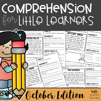 Comprehension Passages for October