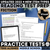 STAAR Reading Comprehension Passages and Multiple Choice Questions Set 5