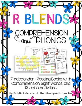 Comprehension Phonics R Blends- Book Edition