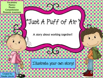 Comprehension, Phonics, Vocabulary & Short Story Packet
