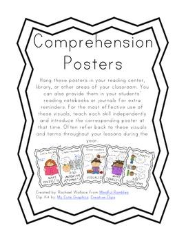 Comprehension Posters Freebie!