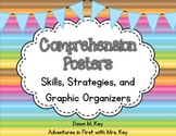 Comprehension Posters ~ Skills, Strategies, and Graphic Organizers