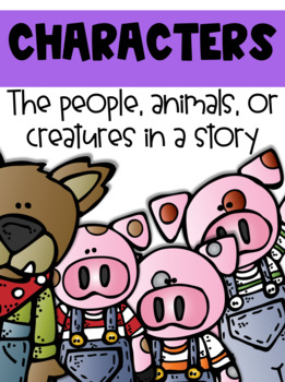 Comprehension Posters (The Three Little Pigs)