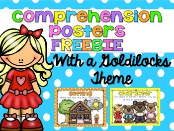 Comprehension Posters and Response {FREEBIE}