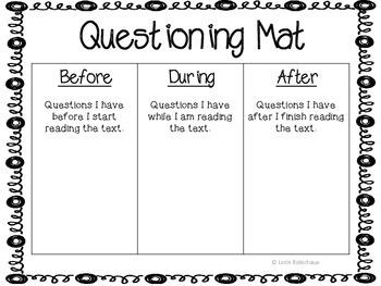 Comprehension Practice Mats