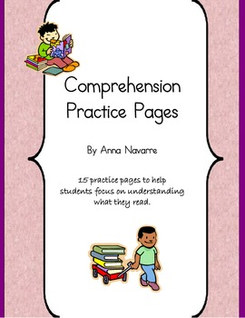 Comprehension Practice Pages