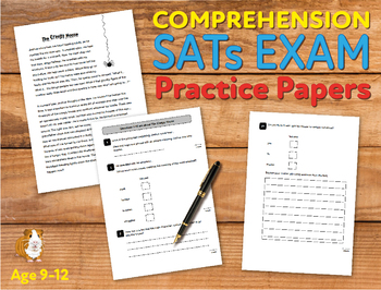 Comprehension Practice Papers (At The Stroke Of Midnight) 9-12 years