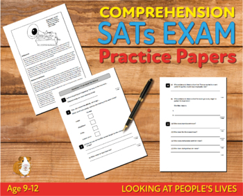 Comprehension Practice Papers (Looking At People's Lives) 9-12 years
