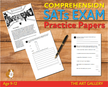 Comprehension Practice Papers (The Art Gallery) 9-12 years
