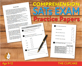 Comprehension Practice Papers (The Cup Cake) 9-12 years