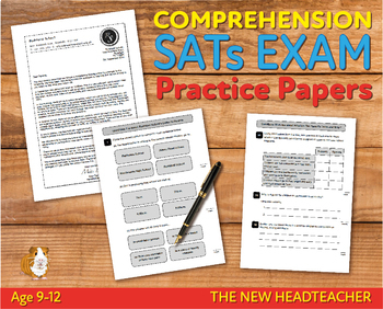 Comprehension Practice Papers (The New Headteacher) 9-12 years