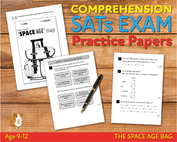 Comprehension Practice Papers (The Space Age Bag) 9-12 years