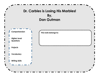 Comprehension & Projects: Dr. Carbles is Losing His Marbles by Dan Gutman