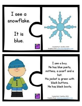 Comprehension Puzzle: Winter