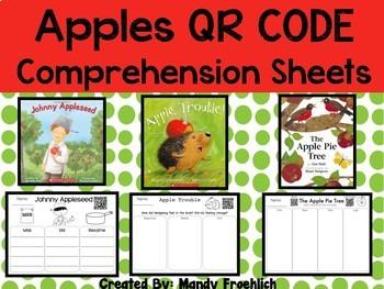 Comprehension QR Codes Apples for September