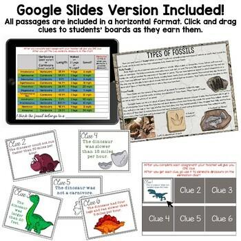 Comprehension Quest™ -Dinosaurs