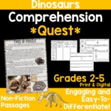 Comprehension Quest® -Dinosaurs