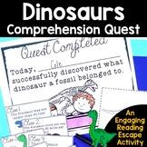 Reading Comprehension Passages -Dinosaurs Nonfiction