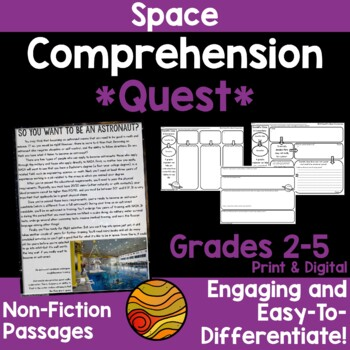 Comprehension Quest™ -Lost in Space