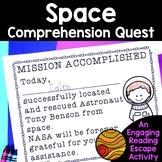 Reading Comprehension Passages -Space Nonfiction