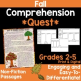 Reading Comprehension Passages -Fall Nonfiction
