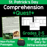 Comprehension Quest™ -St. Patrick's Day