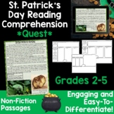 Reading Comprehension Passages -St. Patrick's Day Nonfiction