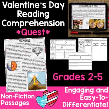 Comprehension Quest™ -The Secret Valentine
