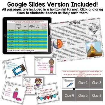 Comprehension Quest® -The Secret Valentine