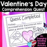 Reading Comprehension Passages -Valentine's Day Nonfiction