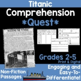Comprehension Quest® -Titanic