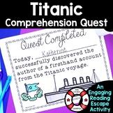 Comprehension Quest™ -Titanic