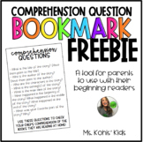 Comprehension Question Bookmark!