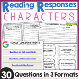 Reading Responses: Character Traits