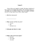 Comprehension Question Packet (who, what, when, where)