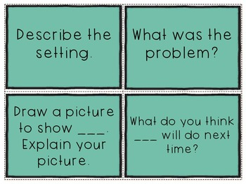 Comprehension Question Stems