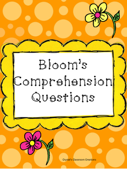 Bloom's Comprehension Questions