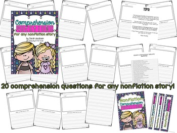 Comprehension Questions Bundle