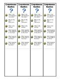 Comprehension Questions Bookmark