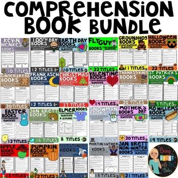 Comprehension Questions Bundle