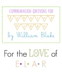 """Comprehension Questions: """"Echoing Green"""" by William Blake"""