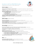 Comprehension Questions Parent Letter In Spanish and English