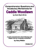 Comprehension Questions and Vocabulary Worksheets for Cadd