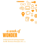 Comprehension Questions for 365 Days of Wonder: Mr. Browne's Precepts (Oct 1-7)