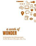 Comprehension Questions for 365 Days of Wonder: Mr. Browne's Precepts (Oct 8-14)