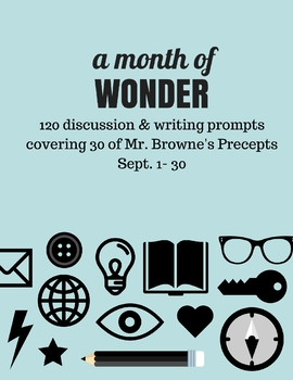 Comprehension Questions for 365 Days of Wonder (Sept 1-30)