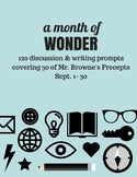Comprehension Questions for 365 Days of Wonder (Sept 1-30)
